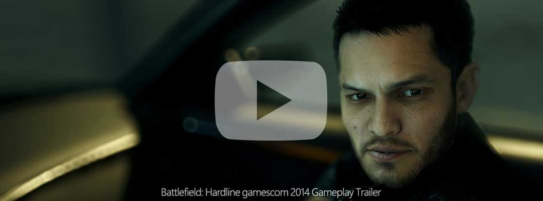 Battlefield: Hardline gamescom 2014 gameplay trailer