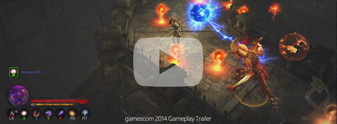 Diablo III ROS gameplay trailer
