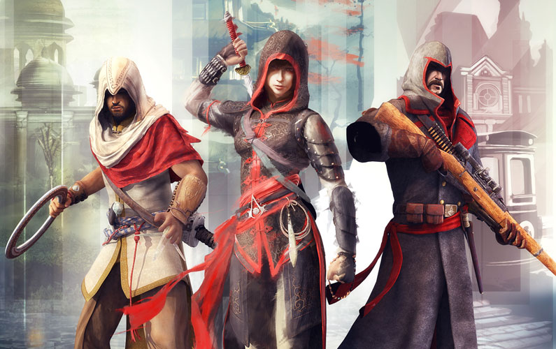 Assassin's Creed Chronicles - China, India και Russia