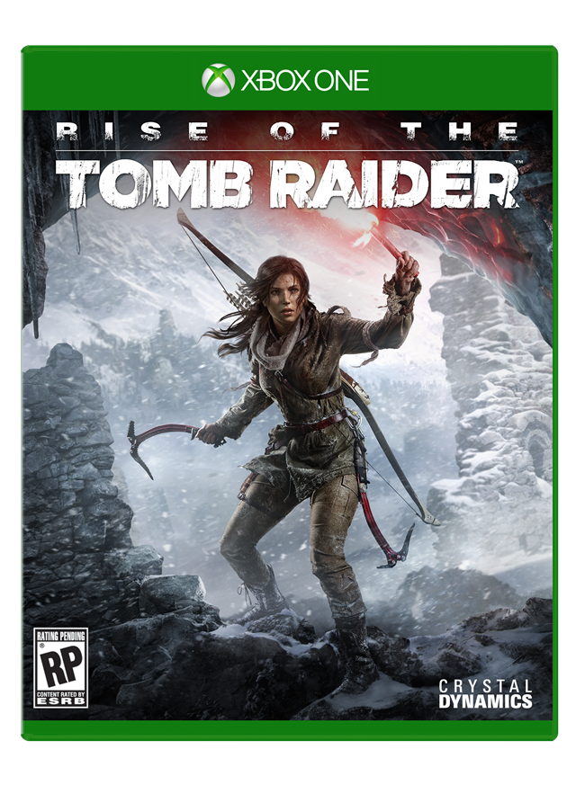 Rise of the Tomb Raider - Xbox One Boxshot