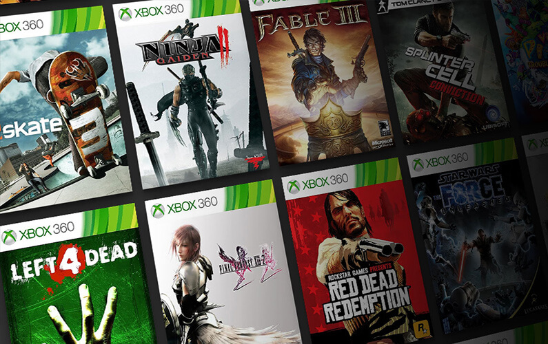 Backward Compatible Xbox 360 on Xbox One, Series X|S