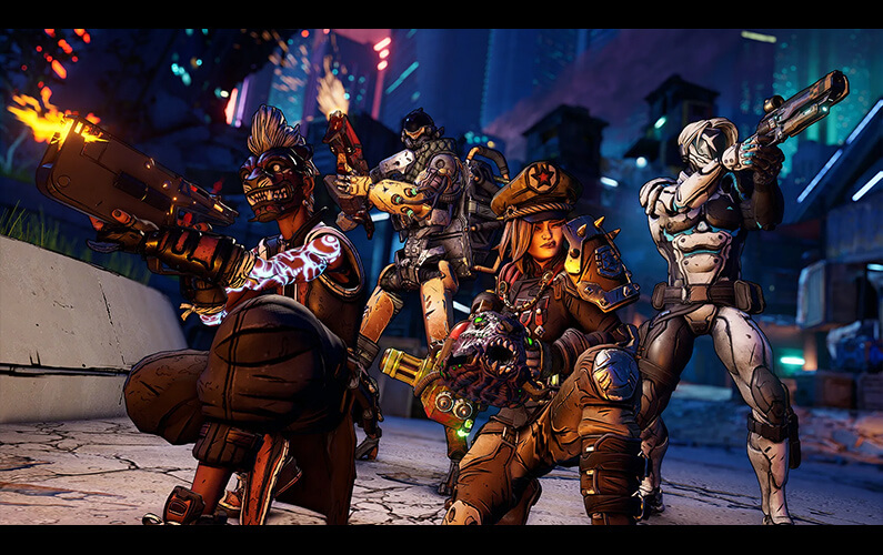 Borderlands 3 on Xbox Series X