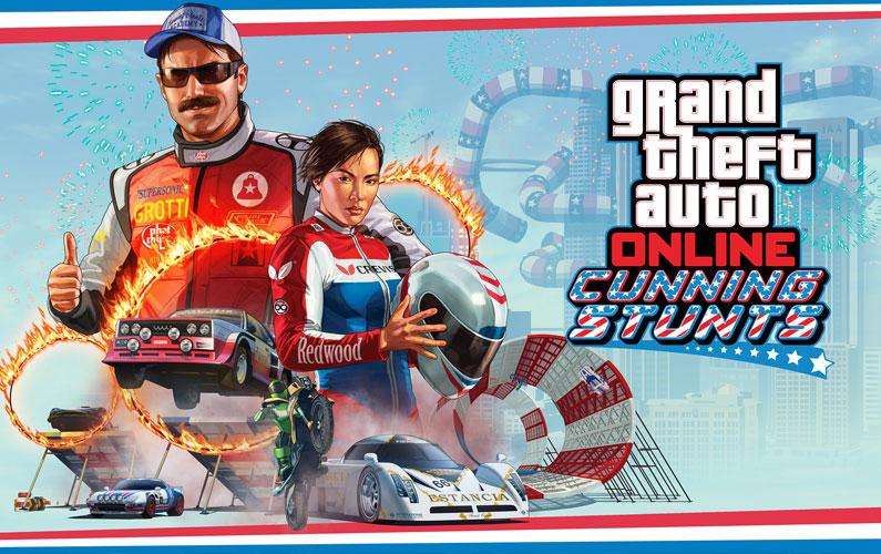 Διαθέσιμο το Cunning Stunts για το GTA Online