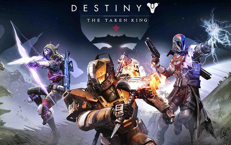 Destiny - The Taken King Cinematic