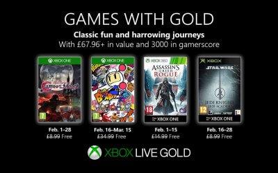 Games with Gold – Φεβρουάριος 2019