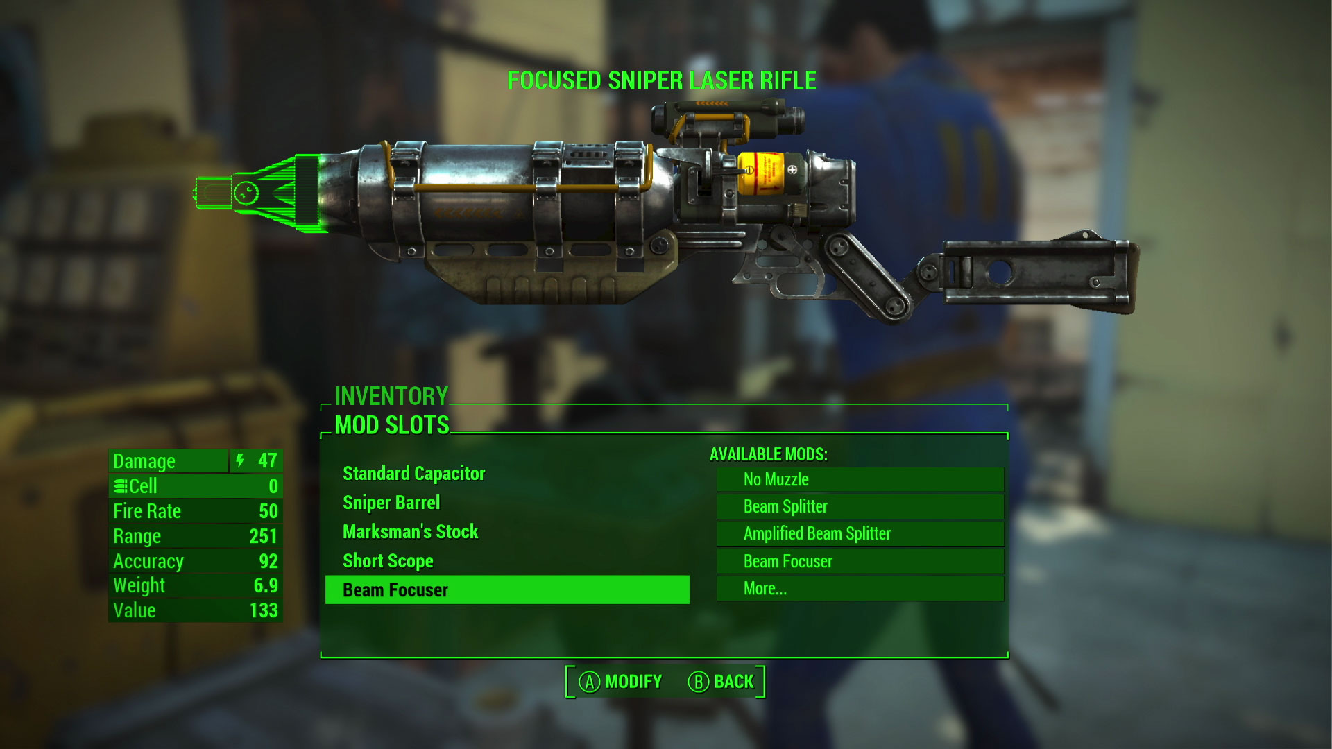 Fallout 4 Laser Mod