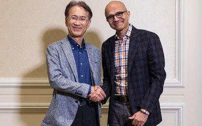 Συνεργασία Microsoft-Sony για το Cloud και cloud-based gaming