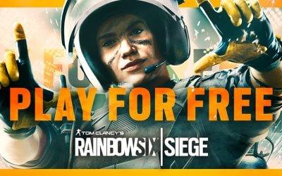 Δωρεάν ΣΚ για το Rainbow Six Siege (+δωρεάν περιεχόμενο)