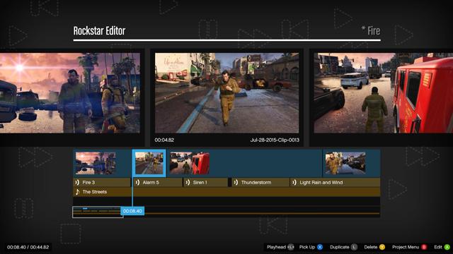 Rockstar Editor on Xbox One