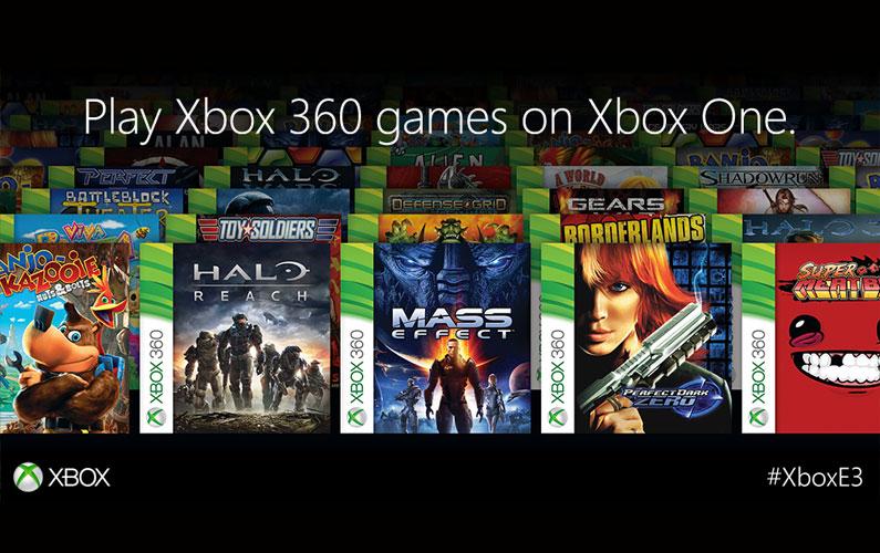 Έρχεται η συμβατότητα του Xbox One με Xbox 360 τίτλους!