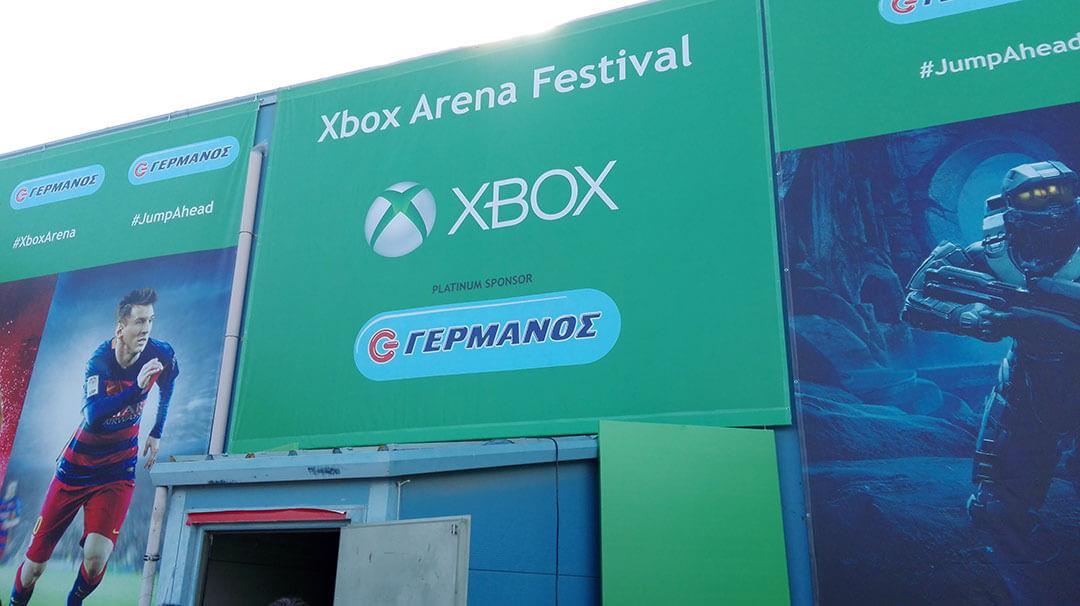 Xbox Festival Entrance