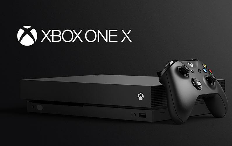 Xbox One X Announcement at E3 2017