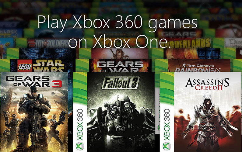 Xbox One συμβατότητα με τίτλους του Xbox 360