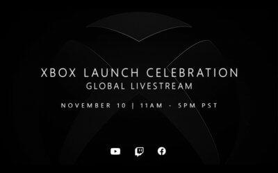 Ξεκίνησε το εορταστικό, παγκόσμιο Xbox Series X|S launch stream