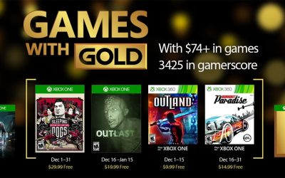 Games with Gold, Δεκέμβριος 2016