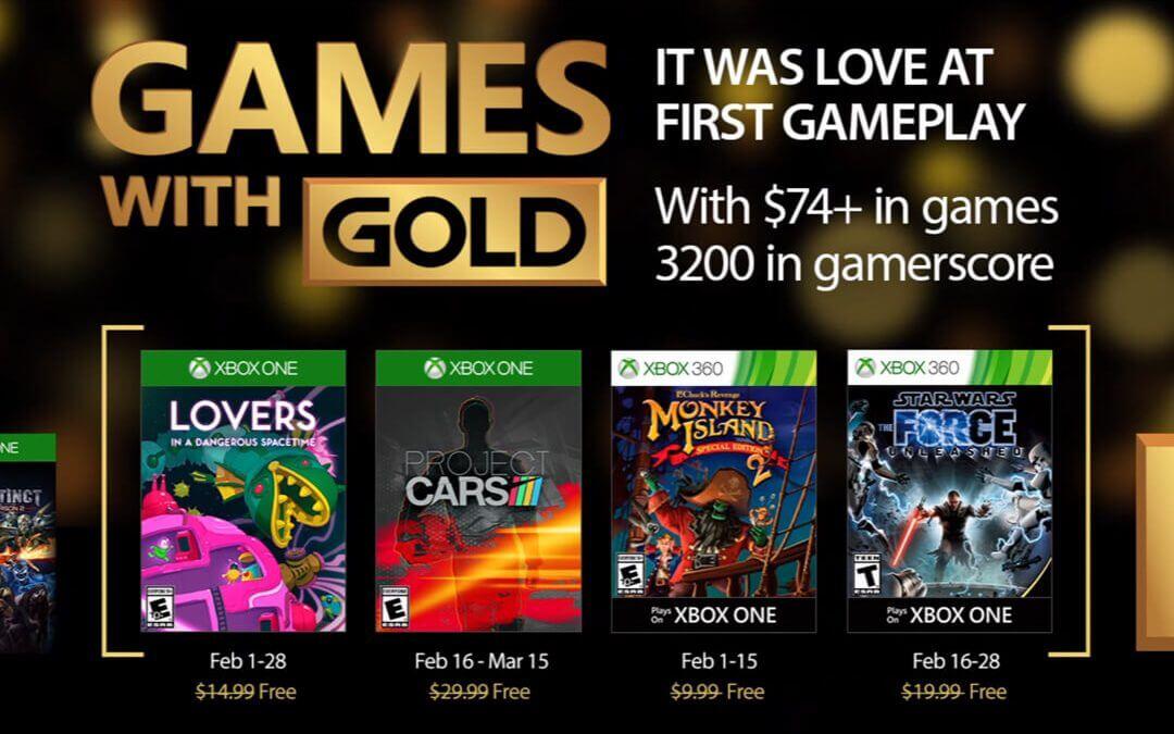 Games with Gold, Φεβρουάριος 2017