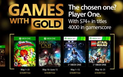 Games with Gold, Μάιος 2017