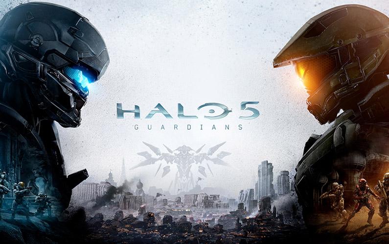 Gameplay από Halo 5 και το Warzone Mode