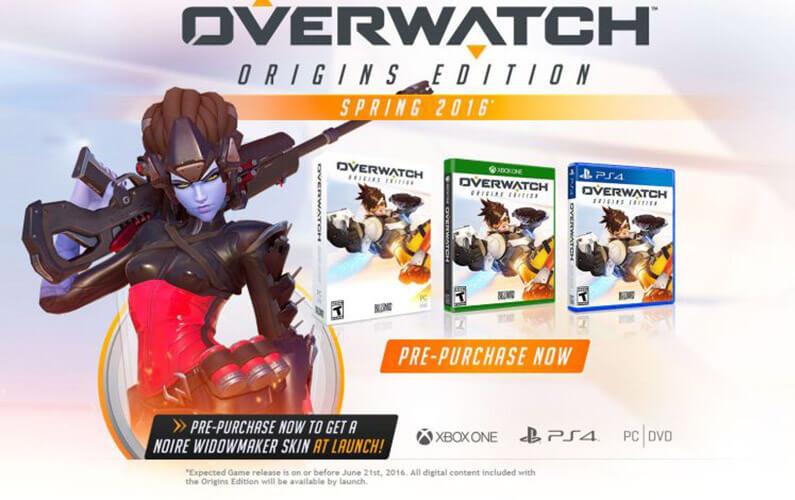 Το Overwatch στο Xbox One