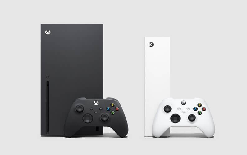 Xbox Series S/X Consoles